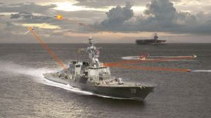 Navy Laser Defense Testing