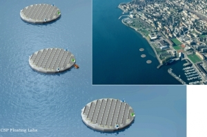 Solar Floating Islands