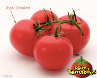 Good Tomato vs. Rotten Tomato