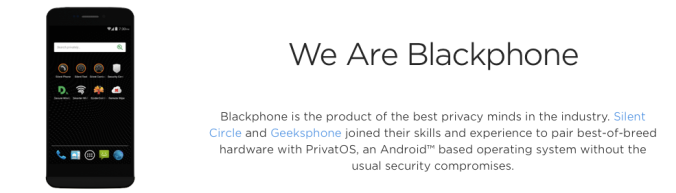 We Are The Blackphone